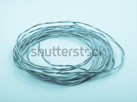 Telephone cable Stock photo © claudiodivizia
