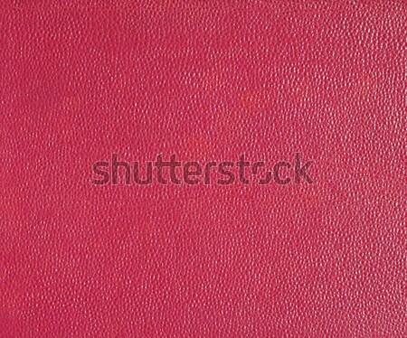Red leatherette background Stock photo © claudiodivizia