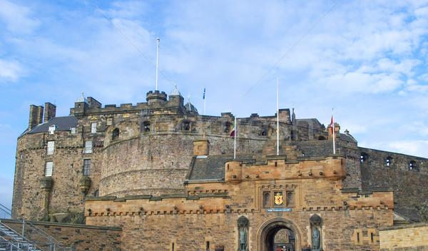 Эдинбург фотография замок Шотландии Великобритания Великобритания Сток-фото © claudiodivizia