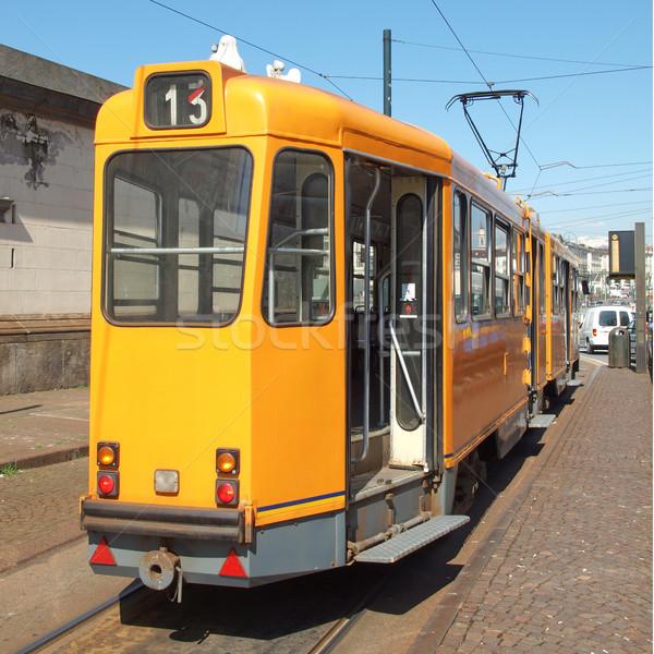 A tram Stock photo © claudiodivizia