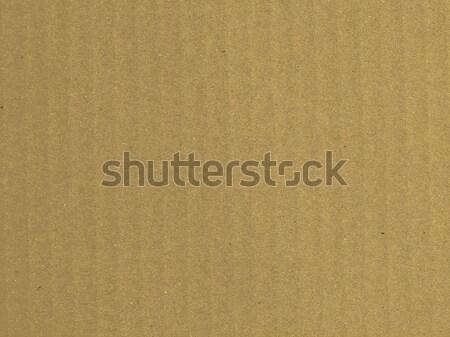 Papel pardo folha útil documento cartão materialismo Foto stock © claudiodivizia