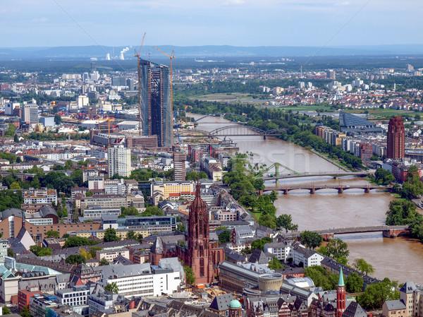 Francoforte sul Meno principale Germania Foto d'archivio © claudiodivizia