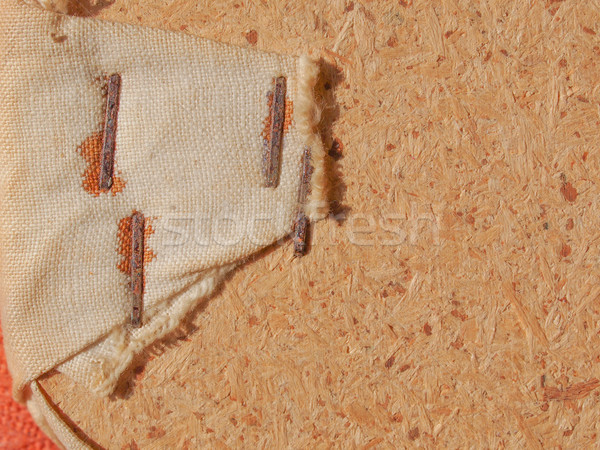Brun toile de jute texture bois résumé fond Photo stock © claudiodivizia