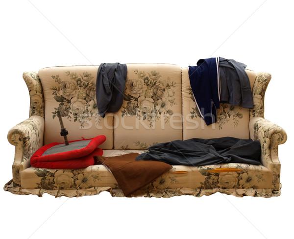 Old sofa Stock photo © claudiodivizia