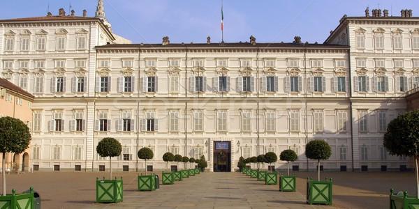 Palazzo Reale, Turin Stock photo © claudiodivizia
