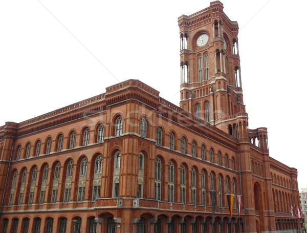 Rotes Rathaus, Berlin Stock photo © claudiodivizia