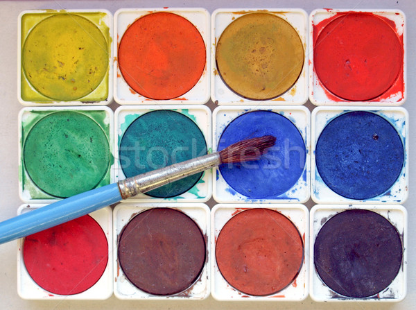 Painting tools Stock photo © claudiodivizia