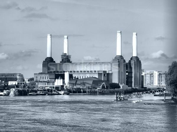Londres centrale électrique Angleterre élevé dynamique gamme Photo stock © claudiodivizia