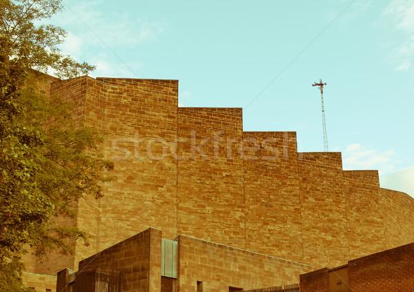 Retro néz katedrális klasszikus néz templom Stock fotó © claudiodivizia