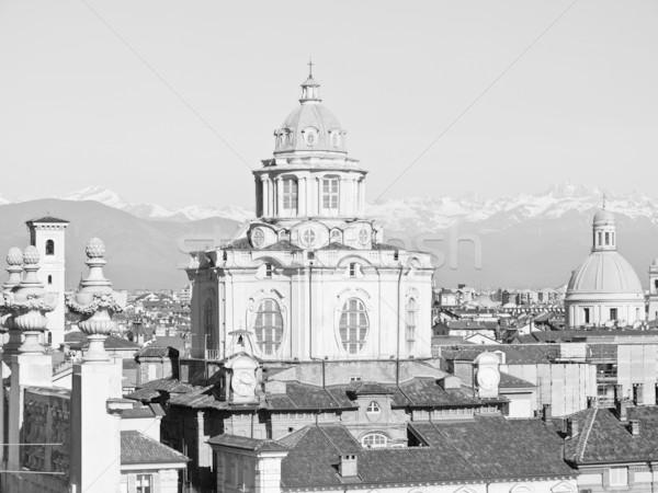 San Lorenzo church, Turin Stock photo © claudiodivizia