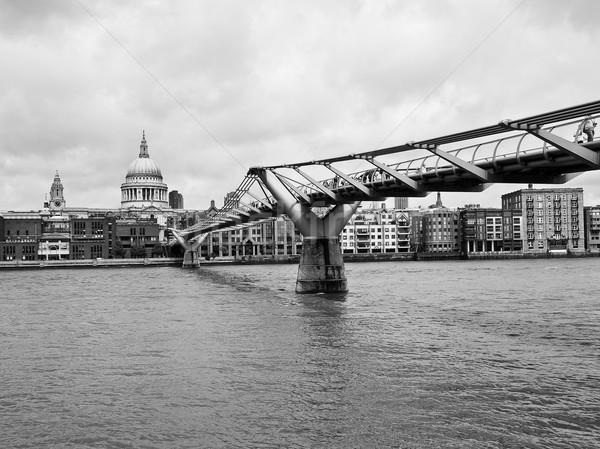 River Thames North Bank, London Stock photo © claudiodivizia