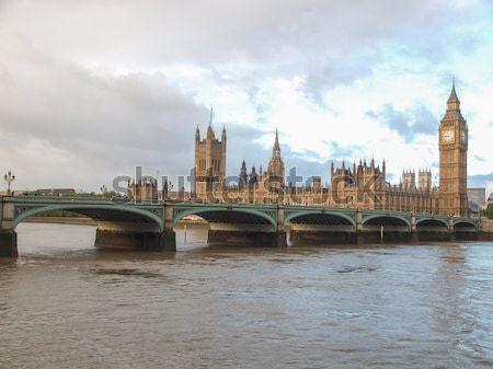 Houses of Parliament London Stock photo © claudiodivizia