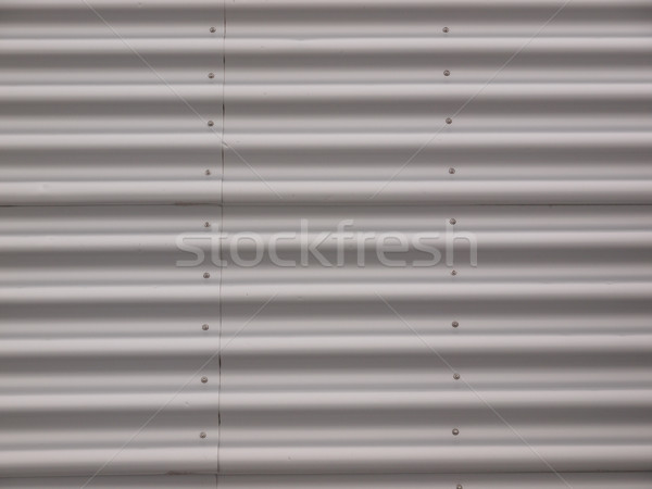 Corrugated steel Stock photo © claudiodivizia