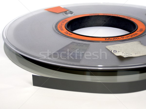 Tape reel Stock photo © claudiodivizia