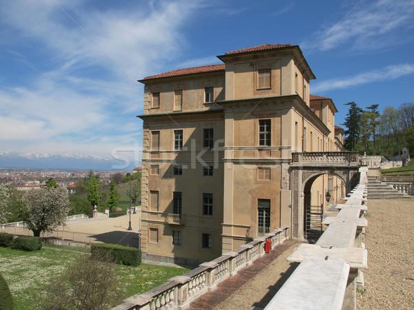 Villa torino Italia vintage antica città Foto d'archivio © claudiodivizia