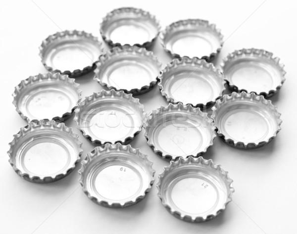 üveg sapka korona dugó sör szénsavas Stock fotó © claudiodivizia