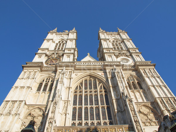 Вестминстерский аббатство Церкви Лондон ретро Англии Сток-фото © claudiodivizia