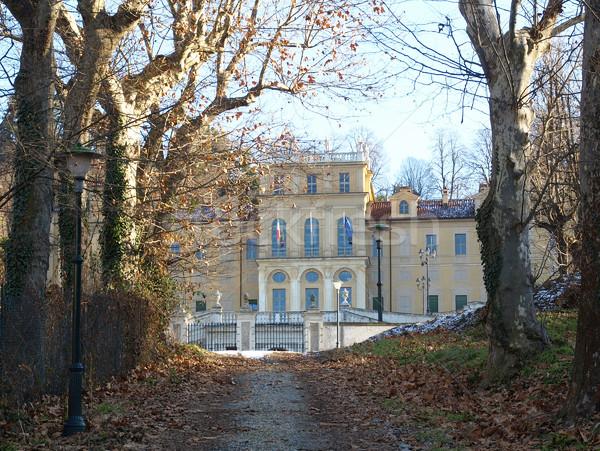 Villa Italie bâtiment italien Photo stock © claudiodivizia