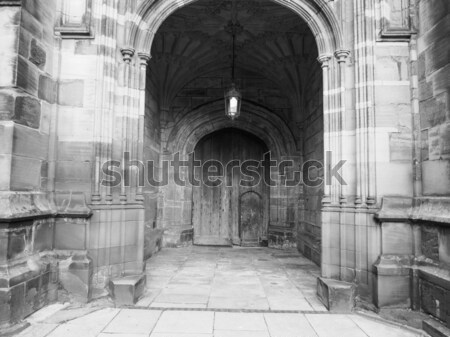 Westminster abbaye gothique église Londres construction Photo stock © claudiodivizia