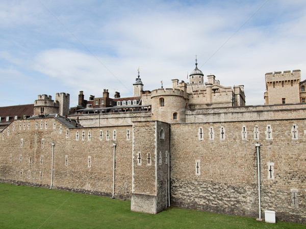 Photo stock: Tour · Londres · médiévale · château · prison · pierre
