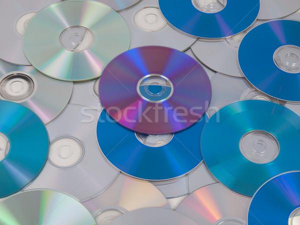 Stock fotó: Cd · lemez · optikai · zene · videó · adattárolás