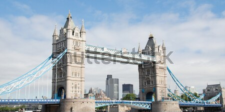 Tower Bridge Londres rio água europa Foto stock © claudiodivizia