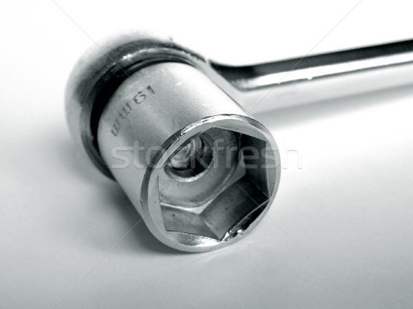 Wrench spanner Stock photo © claudiodivizia