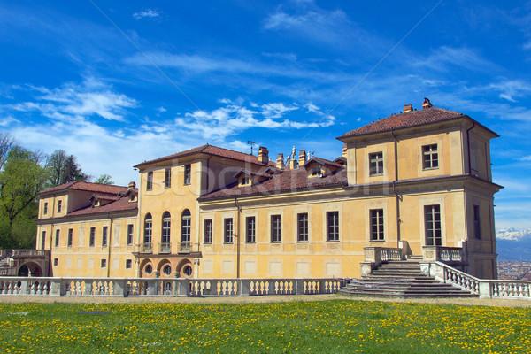 Villa İtalya Retro bağbozumu eski Stok fotoğraf © claudiodivizia