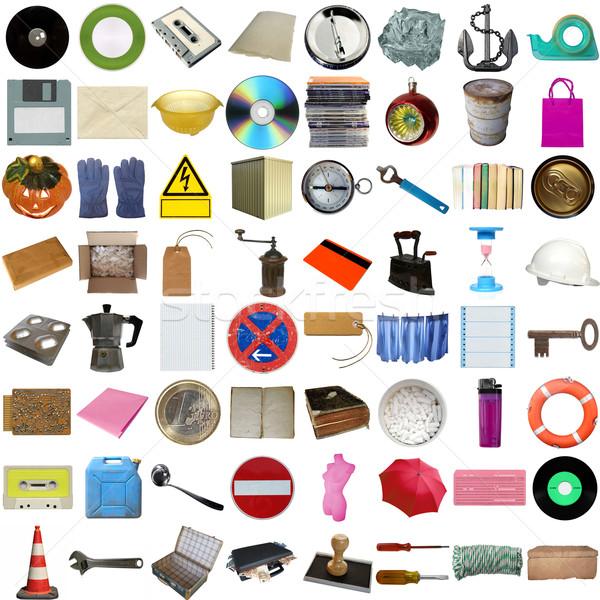 Many objects isolated Stock photo © claudiodivizia