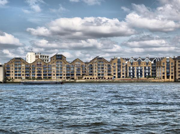 Лондон реке Темза высокий динамический Сток-фото © claudiodivizia