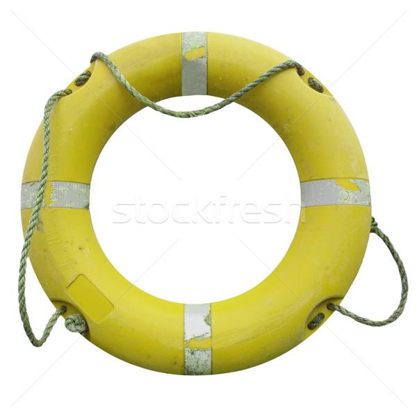 Stok fotoğraf: Cankurtaran · simidi · güvenlik · deniz · yalıtılmış · beyaz · su