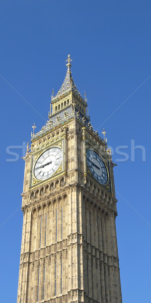Big Ben evler parlamento westminster saray Londra Stok fotoğraf © claudiodivizia