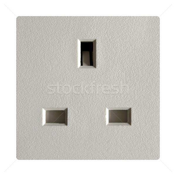 British plug socket Stock photo © claudiodivizia