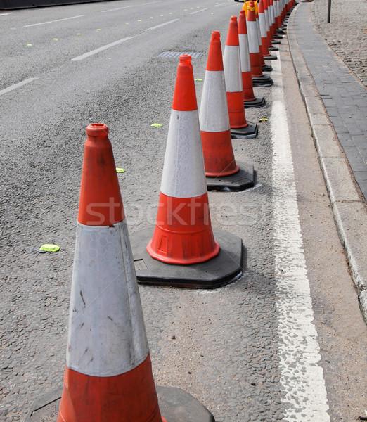 Traffic cone Stock photo © claudiodivizia