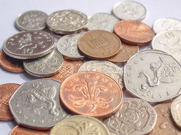 Pounds picture Stock photo © claudiodivizia