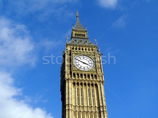 Big Ben Londres casas parlamento westminster palácio Foto stock © claudiodivizia