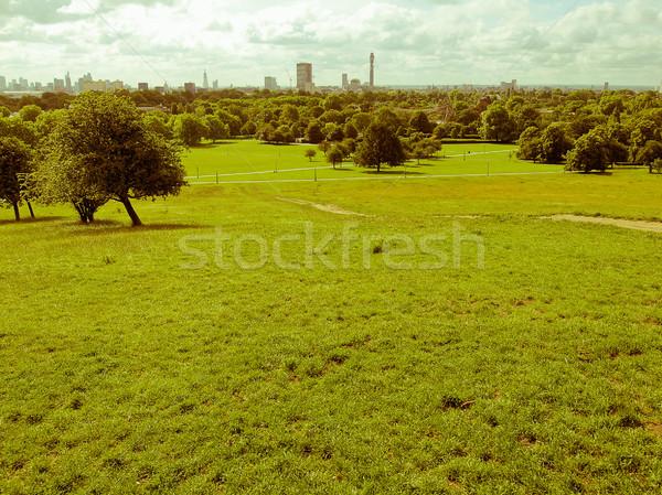 Retro olhando prímula colina Londres vintage Foto stock © claudiodivizia