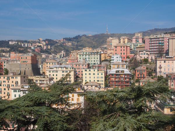 View of Genoa Italy Stock photo © claudiodivizia