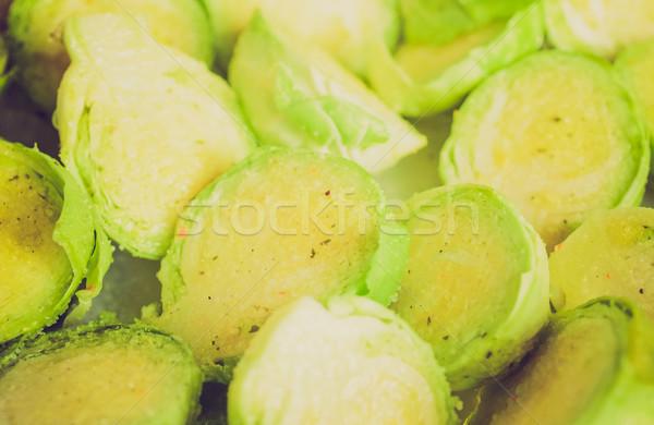 Retro look Brussel sprouts Stock photo © claudiodivizia
