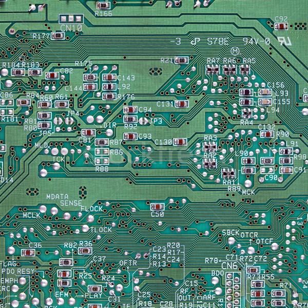 Imprimé circuit détail électronique ordinateur Photo stock © claudiodivizia