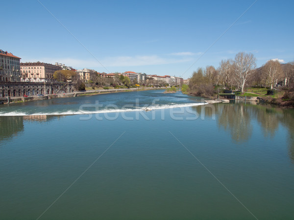 River Po Turin Stock photo © claudiodivizia