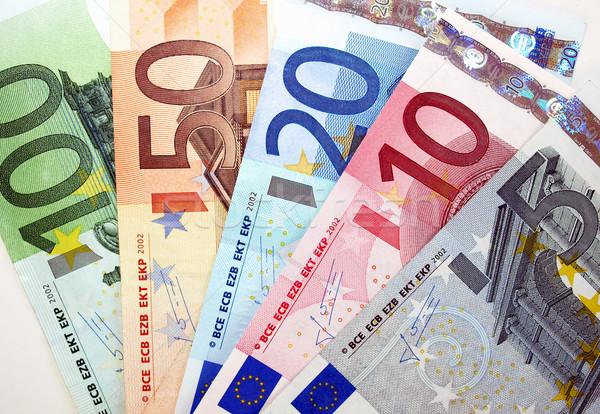 Euro nota valuta unione Foto d'archivio © claudiodivizia