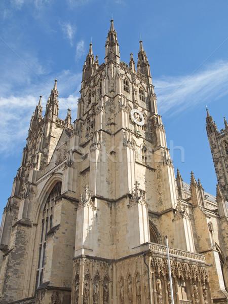 Kathedrale england Kirche Retro Europa Religion Stock foto © claudiodivizia