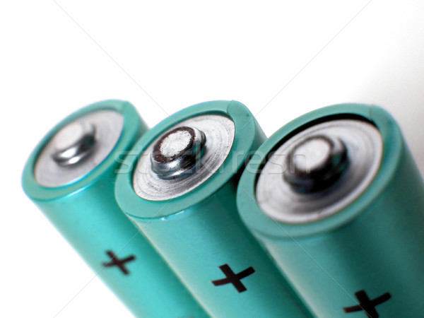 Batteries cells Stock photo © claudiodivizia