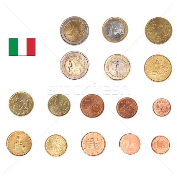 Stock photo: Euro coin - Italy