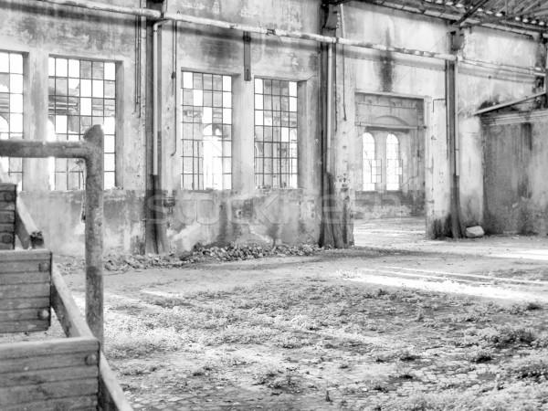 捨てられた 工場 遺跡 アーキテクチャ トリノ ストックフォト © claudiodivizia