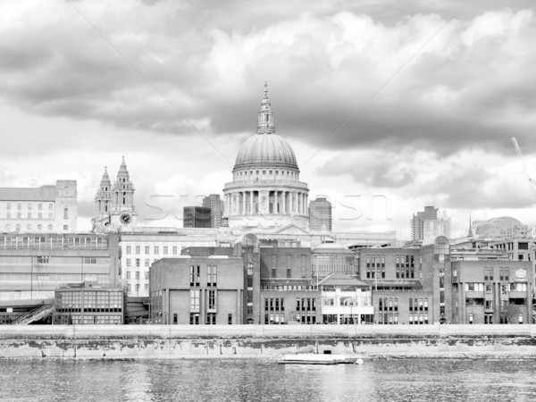 St Paul Cathedral, London Stock photo © claudiodivizia