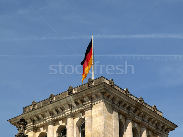 Berlin Reichstag Stock photo © claudiodivizia
