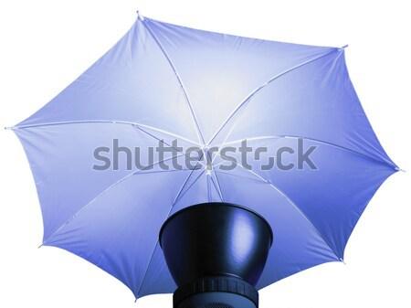 Illuminazione ombrello foto usato luci moda Foto d'archivio © claudiodivizia
