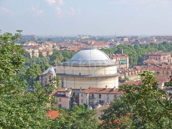 Gran Madre church, Turin Stock photo © claudiodivizia